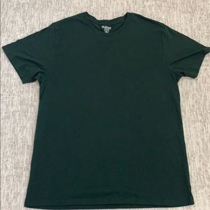 OLD NAVY CLASSIC SHIRT. -XL -dark green in color.